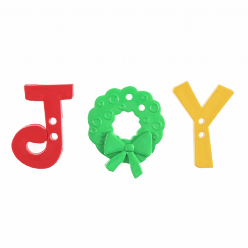 Joy Buttons Pack of 3